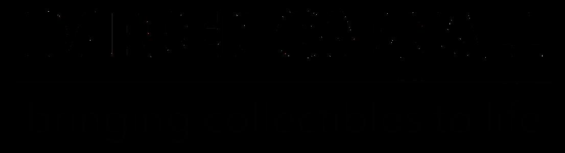 DC.com header logo black
